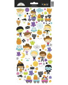 Ghost Town Icons Stickers - Doodlebug*