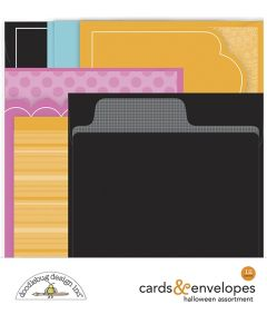 Ghost Town Cards & Envelopes - Doodlebug*