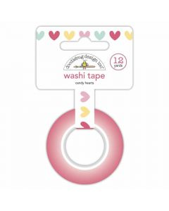 Candy Hearts Washi Tape - Made With Love - Doodlebug