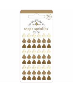 Bitsy Chips Shape Sprinkles - Made With Love - Doodlebug