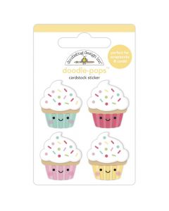 Baby Cakes Doodle-Pops - Made With Love - Doodlebug