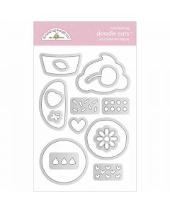 You Bake Me Happy Doodle Cuts - Made With Love - Doodlebug