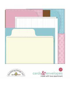 Made With Love Cards & Envelopes - Doodlebug