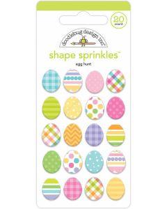 Egg Hunt Shape Sprinkles - Hippity Hoppity - Doodlebug