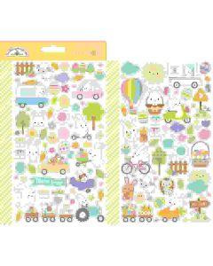 Hippity Hoppity Mini Icons Stickers - Doodlebug