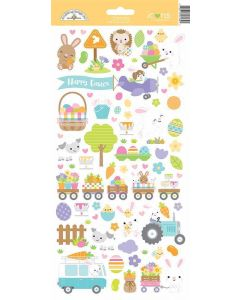 Hippity Hoppity Icons Stickers - Doodlebug