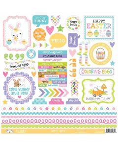 Hippity Hoppity This & That Sticker - Doodlebug