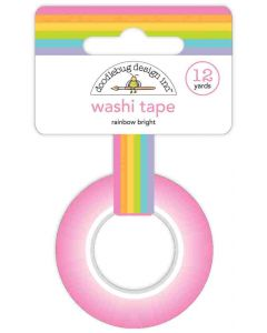 Rainbow Bright Washi Tape - Fairy Garden - Doodlebug