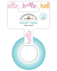 Hello Sunshine Washi Tape - Fairy Garden - Doodlebug