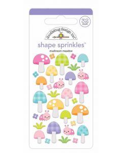 Mushroom Meadow Shape Sprinkles - Fairy Garden - Doodlebug