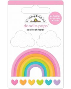 Over The Rainbow Doodle-Pops - Fairy Garden - Doodlebug