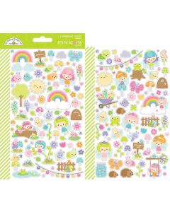 Fairy Garden Mini Icons Stickers - Doodlebug