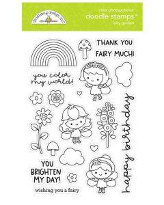 Fairy Garden Doodle Stamps - Doodlebug