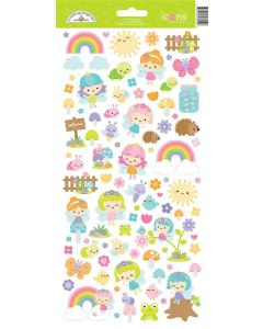 Fairy Garden Icons Stickers - Doodlebug