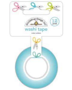 Cute Cutters Washi Tape - Cute & Crafty - Doodlebug