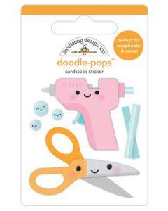 Cute & Crafty Doodle-Pops - Doodlebug
