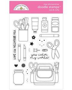 Cute & Crafty Doodle Stamps - Doodlebug*