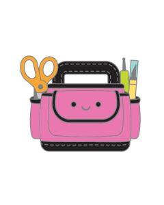 Cute Caddy Collectible Pin - Cute & Crafty - Doodlebug