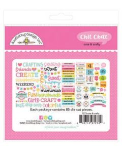 Cute & Crafty Chit Chat - Doodlebug