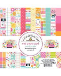 "Cute & Crafty 6"" x 6"" Paper Pad - Doodlebug"