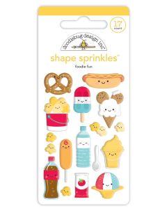 Foodie Fun Shape Sprinkles - Fun at the Park - Doodlebug