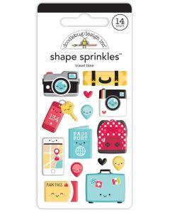 Travel Time Shape Sprinkles - Fun at the Park - Doodlebug