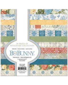 "Boulevard 6"" x 6"" Paper Pad - Bo Bunny - Clearance"
