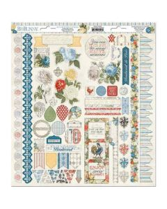 Boulevard Cardstock Stickers - Bo Bunny