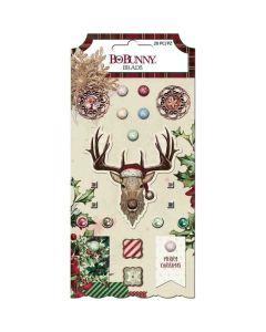Christmas Treasures Brads - Bo Bunny