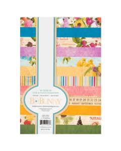 """Time & Place 6"""" x 8"""" Paper Pad - Bo Bunny *"""