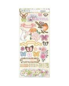 "Garden Grove 6"" x 12"" Cardstock Stickers - Bo Bunny*"