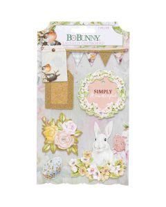 Garden Grove Layered Chipboard - Bo Bunny*