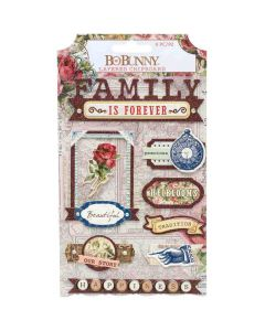 Family Heirlooms Layered Chipboard - Bo Bunny*