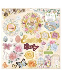 Garden Grove Chipboard Stickers - Bo Bunny*
