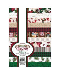 """Joyful Christmas 6"""" x 8"""" Paper Pad - Bo Bunny*"""