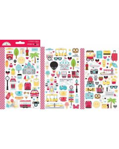 Fun at the Park Mini Icons Stickers - Doodlebug