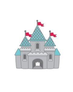 Cute Castle Collectible Pin - Fun at the Park - Doodlebug