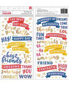 Big Top Dreams Icon Stickers