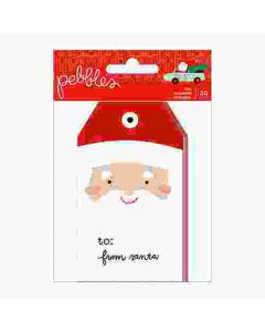 Merry Little Christmas Tag Pad - Pebbles