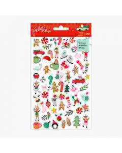 Merry Little Christmas Mini Sticker Book - Pebbles