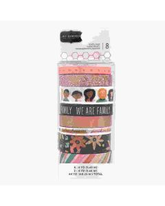 This Is Family Washi Tape - Pebbles