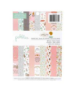 "Peek-A-Boo You Girl 6"" x 8"" Paper Pad - Pebbles"