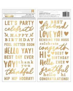 Hey, Hello Phrase Thickers - Jen Hadfield - Pebbles*
