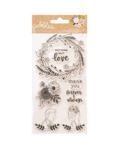 Lovely Moments Stamps - Pebbles*