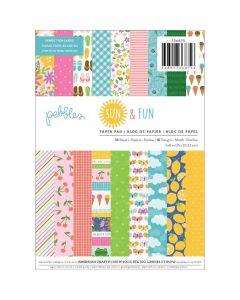"Sun & Fun 6"" x 8"" Paper Pad - Pebbles*"