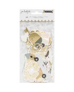 The Avenue Icons Ephemera, Gold Foil - Pebbles*