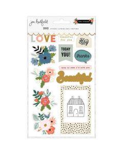 The Avenue Sticker Book, Gold Foil - Pebbles*