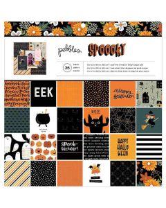 """Spoooky 12"""" x 12"""" Paper Pad - Pebbles*"""