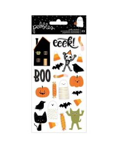 Spoooky Icon Puffy Stickers - Pebbles*