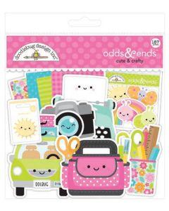 Bright Bits & Pieces - Cute & Crafty - Doodlebug